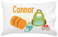 Camp Supplies Pillowcase
