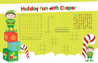 Merry Elf Games Paper Placemats
