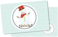 Happy Snowman Placemat