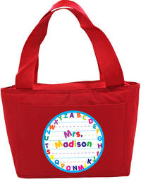Alphabet Insulated Tote