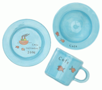 Blue Baby Bright Dinnerware