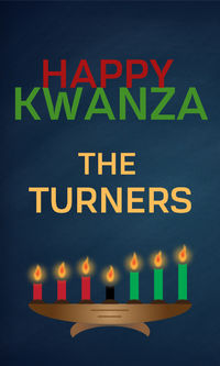 Happy Kwanzaa Gift Sticker
