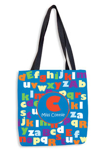 ABC Teacher Tote Bag