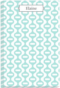 Teal Drops Note Pad