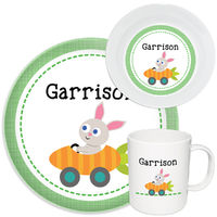 Carrot Race Melamine Set