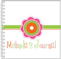 Dotted Flowers Journal | Notebook