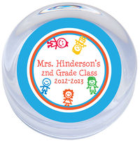 Colorful Kids Paperweight