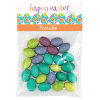 Fun Easter Eggs Candy Bag Toppers