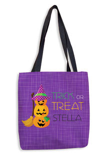Pumpkin Stack Tote Bag