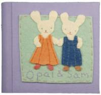 Rabbit Girl & Boy Photo Album