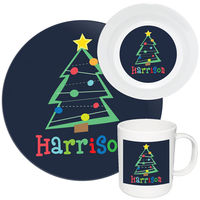 Crazy Christmas Melamine Set
