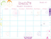 My Doodles Weekly Calendar