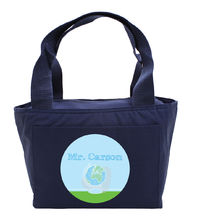 Crayon Globe Insulated Tote