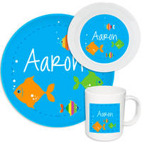 Under the Sea Melamine Set