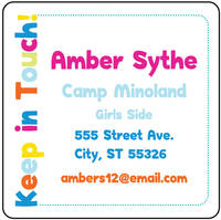 I Heart Camp Calling Card