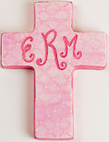 Cross Pink Ceramic