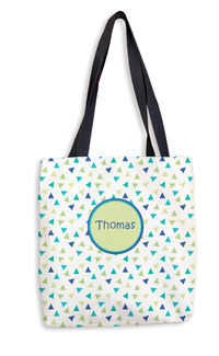 Blue Confetti Tote Bag