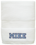 Varsity Boy Embroidered Towel