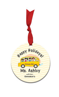 School Days Acrylic Ornament