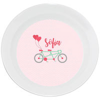 Bicycle For Two Valentine Bowl