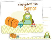 Camp Supplies Camp Fill-in Card