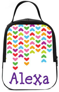 Lined Hearts Lunch Box