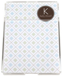 Blue Diamond Memo Sheets
