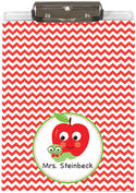 Apple Chevron Acrylic Clipboard