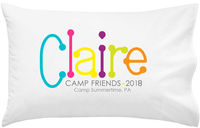 Camp Autograph Pillowcase