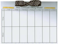 Teacher Ruler Bow Calendar