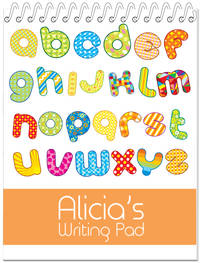 Digital Alphabet Penmanship Book