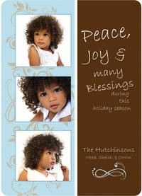 Blessings Blue Card