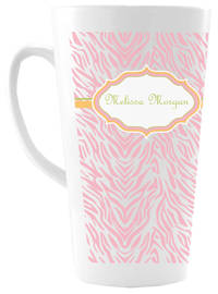 Spring Zebra Ceramic Coffee Mug