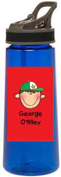 Red Face Water Bottle