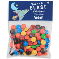 A Blast Valentines Candy Bag Toppers