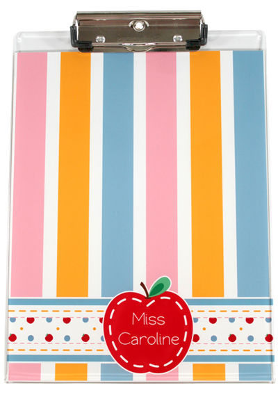 Just an Apple Acrylic Clipboard