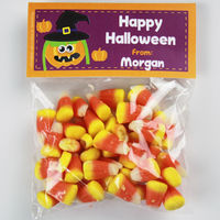 Pumpkin Witch Candy Bag Toppers