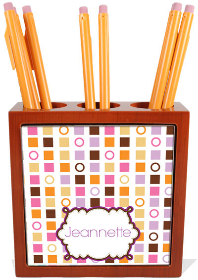 Color Blocks Pencil and Pen Holder