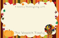 Thanksgiving Frame Paper Placemats