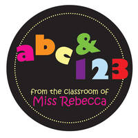 abc123 Gift Sticker