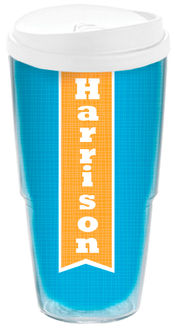 Banner Orange Acrylic Travel Cup
