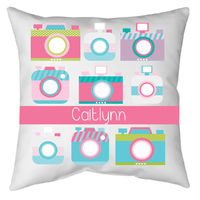 Camera Ready Autograph Camp Pillow