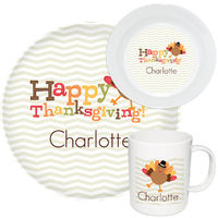 Happy Thanksgiving Melamine Set