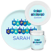 Happy Dreidel Dinnerware Set