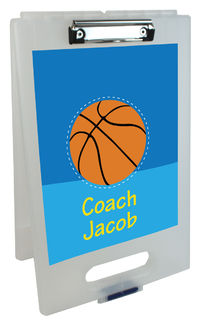 Basketball Coach Clipboard Storage Case