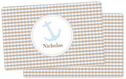 Blue Anchor Placemat