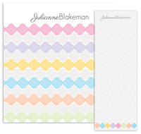 Color Coded Clover Notepad Set