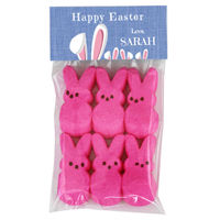 Bunny Ears Easter Candy Bag Toppers