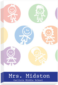 Colorful Kids I Notepad