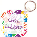 Colorful Hands Key Chain